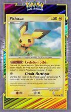 🌈Pichu - DP07:Tempête - 45/100- Carte Pokemon Neuve Française