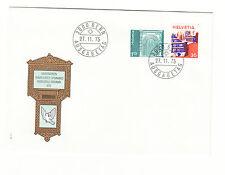 Schweiz  FDC Ersttagsbrief 1975 Freimarken  Mi.Nr.1067+68