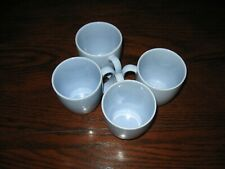 Corelle Stoneware 11oz Coffee Mugs Cups Light blue  set Of 4
