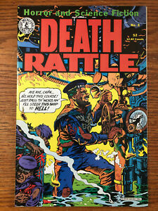 Death Rattle #3 Kitchen Sink Comics 1986 VF/NM Horror and Science Fiction