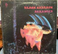 Black Sabbath Paranoid LP 1971 WB WS-1887 Gatefold