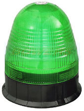 12V/24V 3 BOLT POINT MOUNT LED FLASHING GREEN SEAT BELT WARNING BEACON