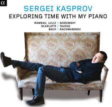 Sergei Kasprov : Sergei Kasprov: Exploring Time With My Piano CD (2014)