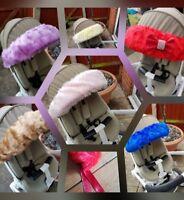 Fur Hood Trim Decorative Soft Handmade Pram Buggy Pushchair Baby Accessories
