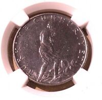 Turkey 2 1/2 Lira 1965 NGC MS 65