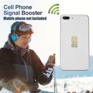 1pc Cell Phone Signal Enhancement Sticker External Antenna Signal Amplifier