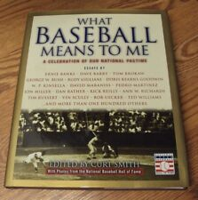 WHAT BASEBALL MEANS TO ME Celebration of our National Pastime ~ 2002 Curt Smith