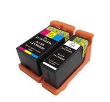 2 x  compatible  Series 21/22/23/24 BK C for dell V313W 513W 515W 713W 715W