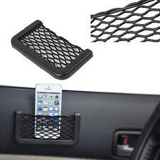 Hot Covenient Auto Car Storage Net String Pouch Bag Phone Gadget holder Pocket