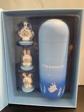 More details for starbucks 2020 mid-autumn festival sky blue bunny/bear gift box 12oz