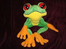 """Rainforest Cafe Tree frog Large 18"""" Long Plush"""