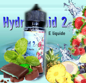 E liquide  50 ml  ,Menthe glaciale,  RED 2,  HSB  , Tabacs blond , MLB ,  RY 4