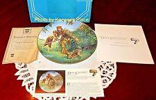 Gene Boyer Davy Crockett 2nd Issue American Folk Heroes Series Mint Plate Coa