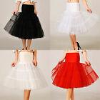 1950s Petticoat Skirt Women Underskirt Crinoline Slips Tutu Skirt Dress