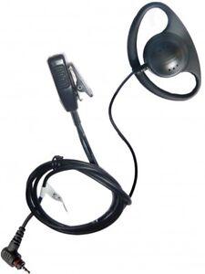 Motorola SL1600 D shape earpiece with microphone