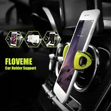 FLOVEME Universal Car Mobile Phone Holder Air Vent Mount Kit for iPhone Samsung
