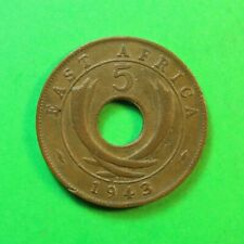 1943SA East Africa 5 Cents SNo58204