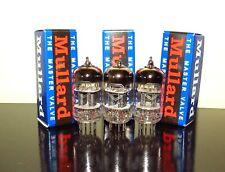 Matched Trio (3) Mullard CV4004/ECC83/12AX7 tubes - Russia