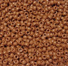 Tiger Eye Mini Pony Beads made in USA 1,000pc crafts school VBS kandi jewelry