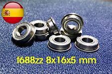 F688ZZ F 688-2z 8x16x5 mm 8*16*5 mm rodamiento ENVÍO RÁPIDO DESDE ESPAÑA 🇪🇸