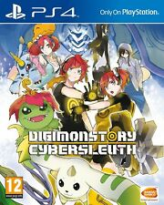 Digimon Story Cyber Sleuth PS4 MINT - 1st Class FAST & FREE Delivery