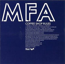 MFA Coffee Shop Rules CD Midnight Funk Association Domino WIGCD 48 electronic