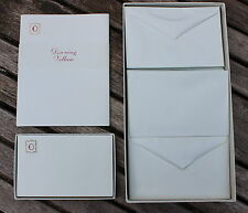 HARRODS Vintage Initial O Stationery Writing Boxed Set Paper, Envelopes & Notes