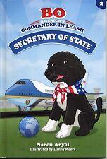 Bo Commander In Leash Secretary Of State Portuguese Water Dog Naren Aryal Book