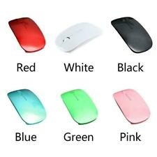 Pink Wireless Mouse Slim 2.4 GHz USB Optical Cordless Scroll for PC Mac Laptop