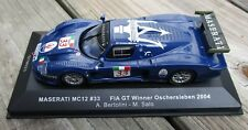 Trofeo 1/43 Maserati MC12 2004 Oschersleben FIA GT Winner Mint