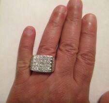 14K Gold Diamond Men's Ring Dia=3.50 Carats F-SI1 18.8 Gr Size 11  Value=$16,750