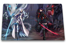 Yu-Gi-Oh Playmat Blue-Eyes White Dragon & Darkness Dragon TCG CCG Play Mat + Bag