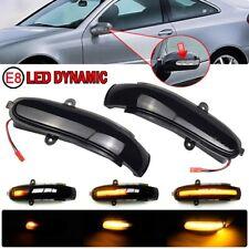 2x Für Mercedes Benc C-W203 S203 CL203 00-04 Dynamische LED Spiegelblinker DHL