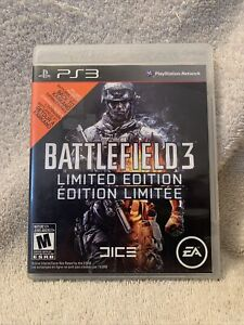 Battlefield 3 Limited Edition Sony PlayStation 3, 2011 Free Shipping