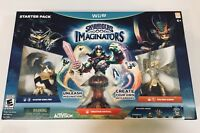 Skylanders Imaginators Starter Pack - Nintendo Wii U - New In Factory Sealed Box