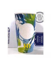 NEW 2016 Starbucks Hawaii Exclusive Ceramic Travel Tumbler Mug 12 OZ