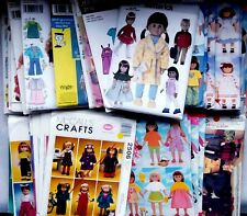 """American Girl Gotz 18"""" Doll Clothes Sewing Patterns All  UNCUT -  YOU CHOOSE"""