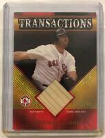 2003 Topps Traded Transactions Bat Relics #JG Jeremy Giambi Bat Card (J7)