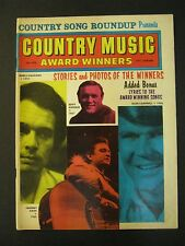 COUNTRY SONG ROUNDUP Country Music Winners Magazine Spring 1971 Johnny Cash more