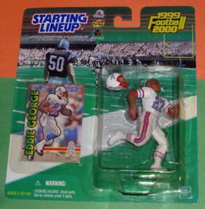 1999 EDDIE GEORGE Houston Oilers NM+ Tennessee Titans *FREE s/h* Starting Lineup