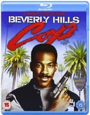 BEVERLY HILLS COP TRILOGY  BLU RAY  3 DISC SET  EDDIE MURPHY