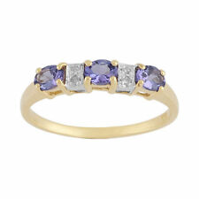 Tanzanite Natural Not Enhanced Yellow Gold Fine Jewellery