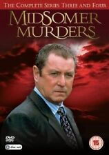 Midsomer Murders The Complete Series Three and Four 5036193099335 DVD Region 2