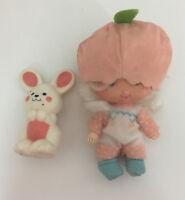Vintage Strawberry Shortcake Doll Baby Apricot & Hopsalot Bunny!