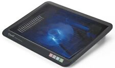 """E-books C1 Quiet Laptop Cooling Pad One Fan for 10""""-14"""" Gaming Laptop - Black"""