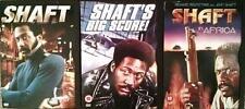SHAFT TRILOGY Big Score*Shaft In Africa Blaxploitation Action Thriller DVD *EXC*