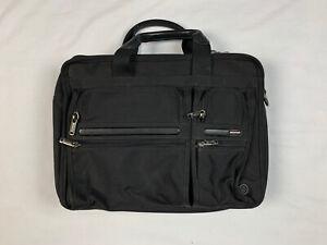 Tumi Expandable Organizer Black Laptop Briefcase Bag