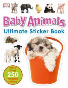 Baby Animals Ultimate Sticker Book by DK