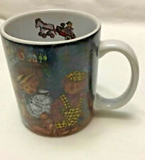 Lang and Wise Teddy Bear Coffee Mug 1998 All Decked Out Cup