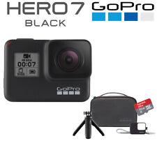 GoPro Hero 7 Black 4K60 Ultra HD HyperSmooth + 32GB SD + Travel Kit Bundle BN